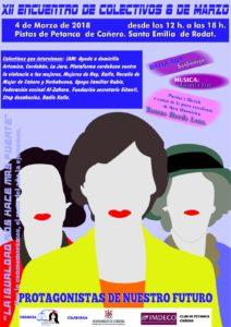 XXII Encuentro de colectivos 8 de Marzo @ Pistas de Petanca Cañero