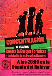 Concentración contra la Europa Fortaleza @ Cúpula de Bulevar Gran Capitán