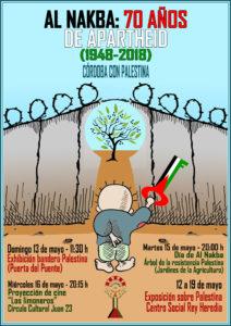 """Jornadas """"NAKBA: 70 años de apartheid"""" @ Centro Social Rey Heredia (y otros)"""