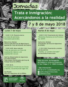 """Jornadas """"Trata e inmigración: acercándonos a la realidad"""" @ Salón de Actos Delegación Junta de Andalucía"""