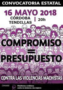 #AlertaFeminista Concentración 16 de mayo @ Plaza Tendillas, Córdoba