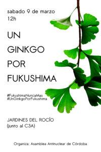 Un ginkgo por Fukushima @ Jardines del Rocio (Junto al C3A)